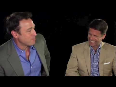 Brad Thor and Armand Schultz on BLACK LIST Interview 1