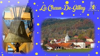 Cloches: La Chaux-De-Gilley (FR-25), Eglise Saint-Antide
