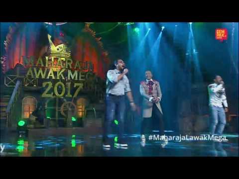 Aksi Jozan di Maharaja Lawak Mega 2017