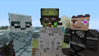 Minecraft Xbox - Survival Darkness Adventures - Ghost in the Graveyard [6]