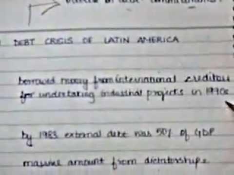 Latin American Crisis tutorial
