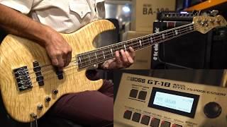 Boss GT-1B Multi-Effect Pedal for Bass Guitar