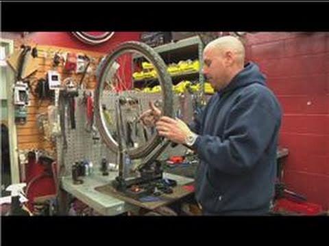 Mountain Bike Maintenance How To Repair A Mountain Bike Wheel
