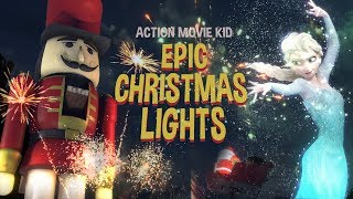 Action Movie Kid - Epic Christmas Lights