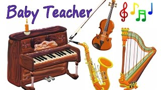 Musical Instruments for Kids – The Little Orchestra | MusicMakers Compilation - From Baby Teacher