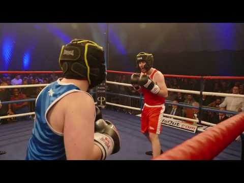 The Park Club Charity Boxing  Richard Beard V Danny Flaherty