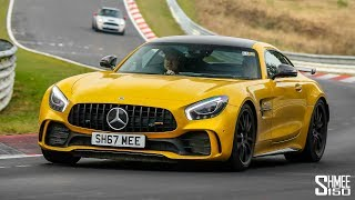 Here'S A Nurburgring Hot Lap With My 760hp Renntech Amg Gt R! [Vr180]