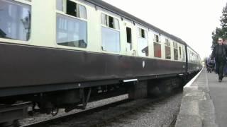 6024 King Edward I West Somerset Railway Spring Gala 2010