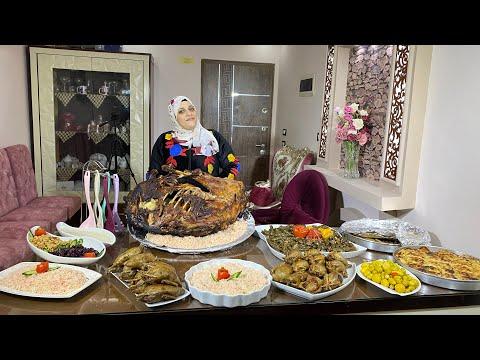 عملت اكبر وليمه علي القناه عزومه المليون هو ده المحمر والمشمر - أسرار المطبخ مع سمر