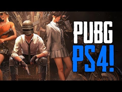PUBG Coming to Playstation 4! (Playerunknowns Battlegrounds)