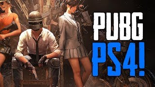 PUBG Coming to Playstation 4! (Playerunknown's Battlegrounds)