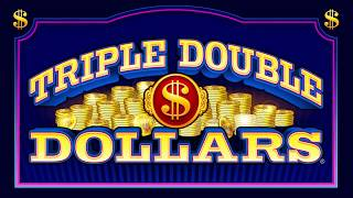Triple Double Dollars® Free Games Spinning Reel Slots by IGT - Game play video