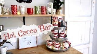 DIY HOT COCOA & COFFEE BAR | MICHELLE K