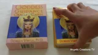 REVIEW: Goddess Guidance Cards by Doreen Virtue Ph.D. reviewed by Renee at Angelic Creations