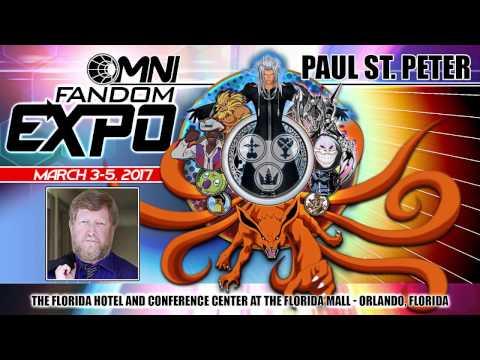 Paul St. Peter Returns to Omni Fandom Expo 2017!
