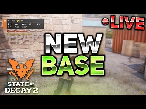 NEW POLICE STATION BASE! MILITARY TRUCK! #3 - State of Decay 2 LIVESTREAM