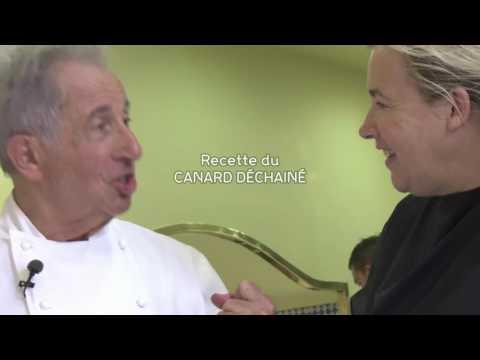 Toqués de canard : Michel Guérard présente son canard déchaîné
