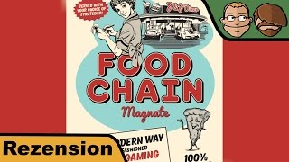 Food Chain Magnate - Brettspiel - Review