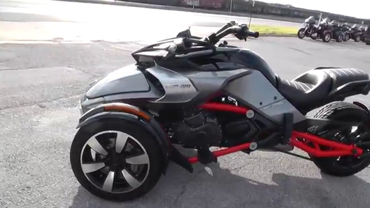 Can Am Spyder For Sale >> 001120 2015 Can Am Spyder F3 S Used Motorcycle For Sale