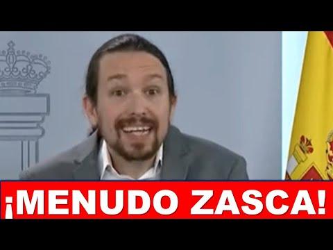 Un periodista de Okdiario aniquila a Pablo Iglesias por criticar la condena de la podemita Isa Serra