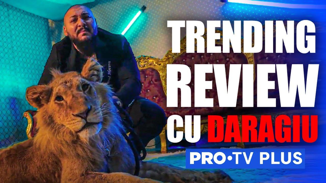 Dani Mocanu are un leu, animal de companie - Trending Review cu Daragiu - episodul 47