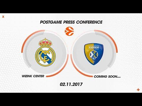 Press Conference Post: Real Madrid - Khimki