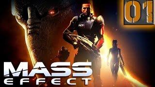 Mass Effect Прохождение Часть 1