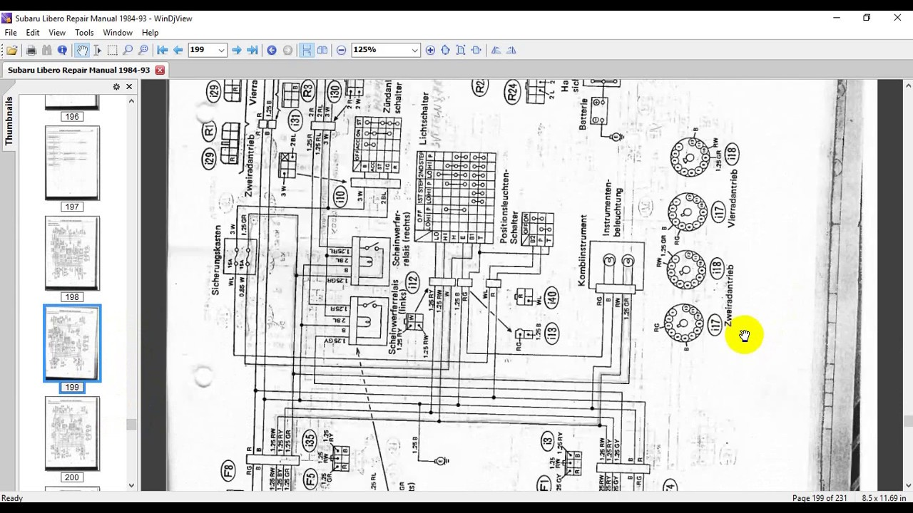 subaru libero repair manual 1984 93 youtube rh youtube com husaberg wiring diagram subaru libero repair manual 1984 93