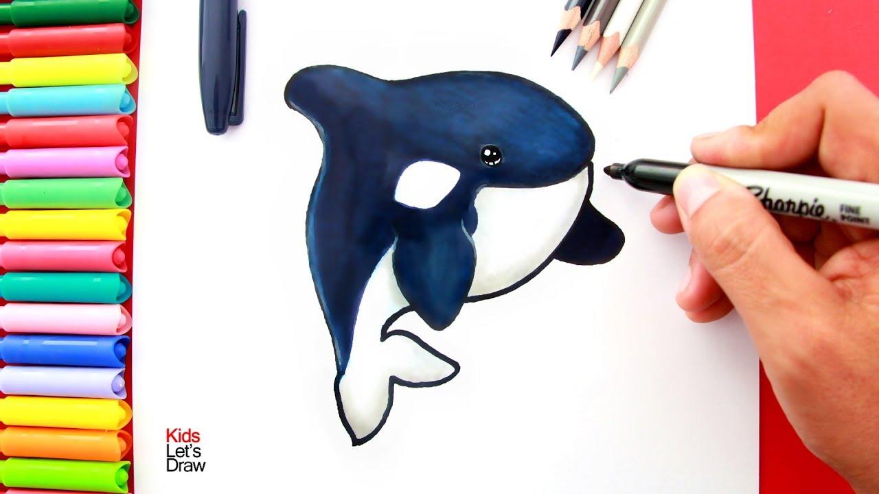 Animada Ballena Orca