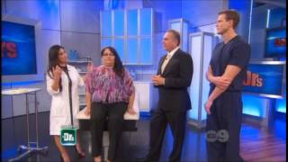dr sandra lee removes a buffalo hump on the doctors 01 23 14