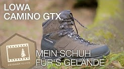 Lowa Camino GTX (WXL) - Bushcraft & Trekkingstiefel Review german/deutsch