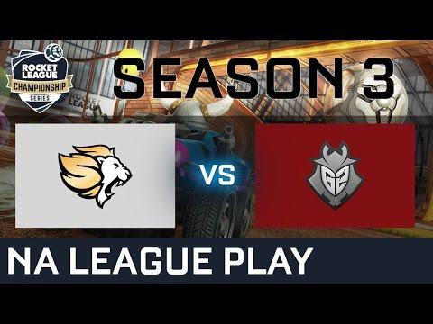 Selfless Gaming vs G2 Esports NA League Play - RLCS S3
