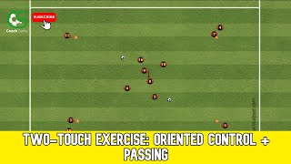 Football training: Two-touch e…