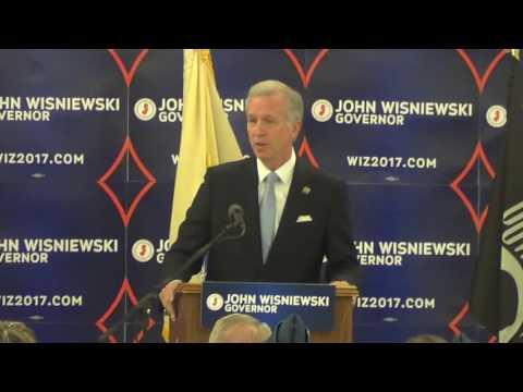 John Wisniewski Rally for Governor