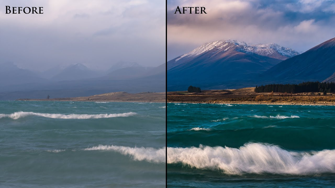 How to process a landscape photo in lightroom complete for Professional landscape