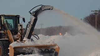 Video still for The HitchDoc 9200 Snowblower on a CAT