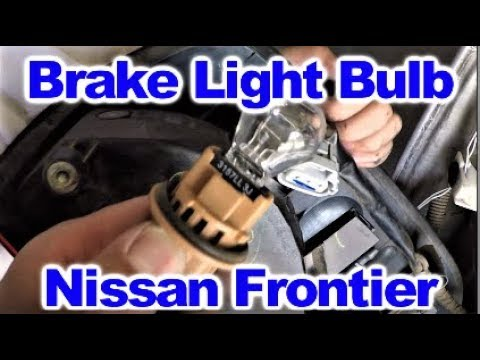 How to replace a Brake Light and Tail Light Bulb on a 2008 Nissan Frontier