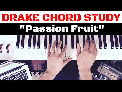 Drake Chords From Passion Fruit - Keyboard And Piano Basics 101 For The Beat Maker