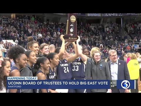 VIDEO: UConn's Board To Vote On Big East Invitation