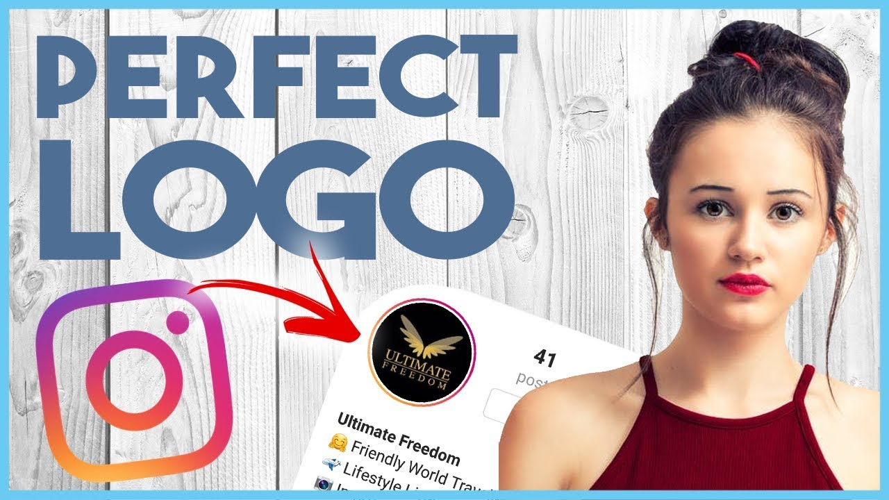 ???? INSTAGRAM LOGO & PROFILE PICTURE GUIDE - CRASH COURSE LESSON 3 ????