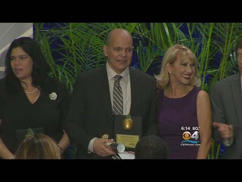 Inside The Classroom Of Miami-Dade County's Teacher Of The Year