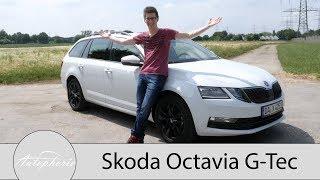 Download Video 2018 Skoda Octavia Combi G-Tec Fahrbericht / Die CNG-Erdgas-Variante im Alltagscheck - Autophorie MP3 3GP MP4