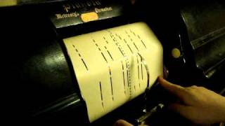 Yale University Songs on Piano Roll