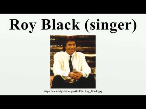 Roy Black (singer)
