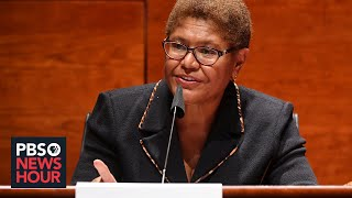Rep. Karen Bass On Democratic Police Reform Bill And Changing A Culture Of 'impunity'
