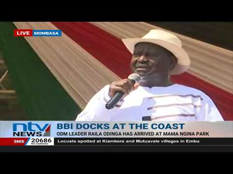 Raila Odinga - The only person I looked for was President Uhuru
