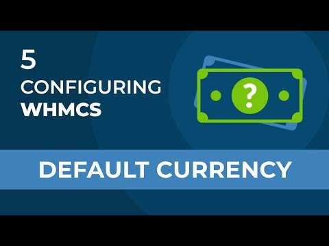 WHMCS Changing Default Currency