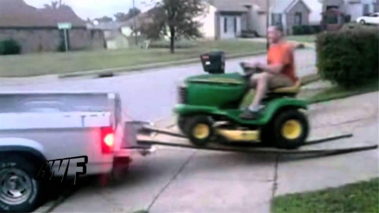 Youtube Kid Makes Lawn Mower