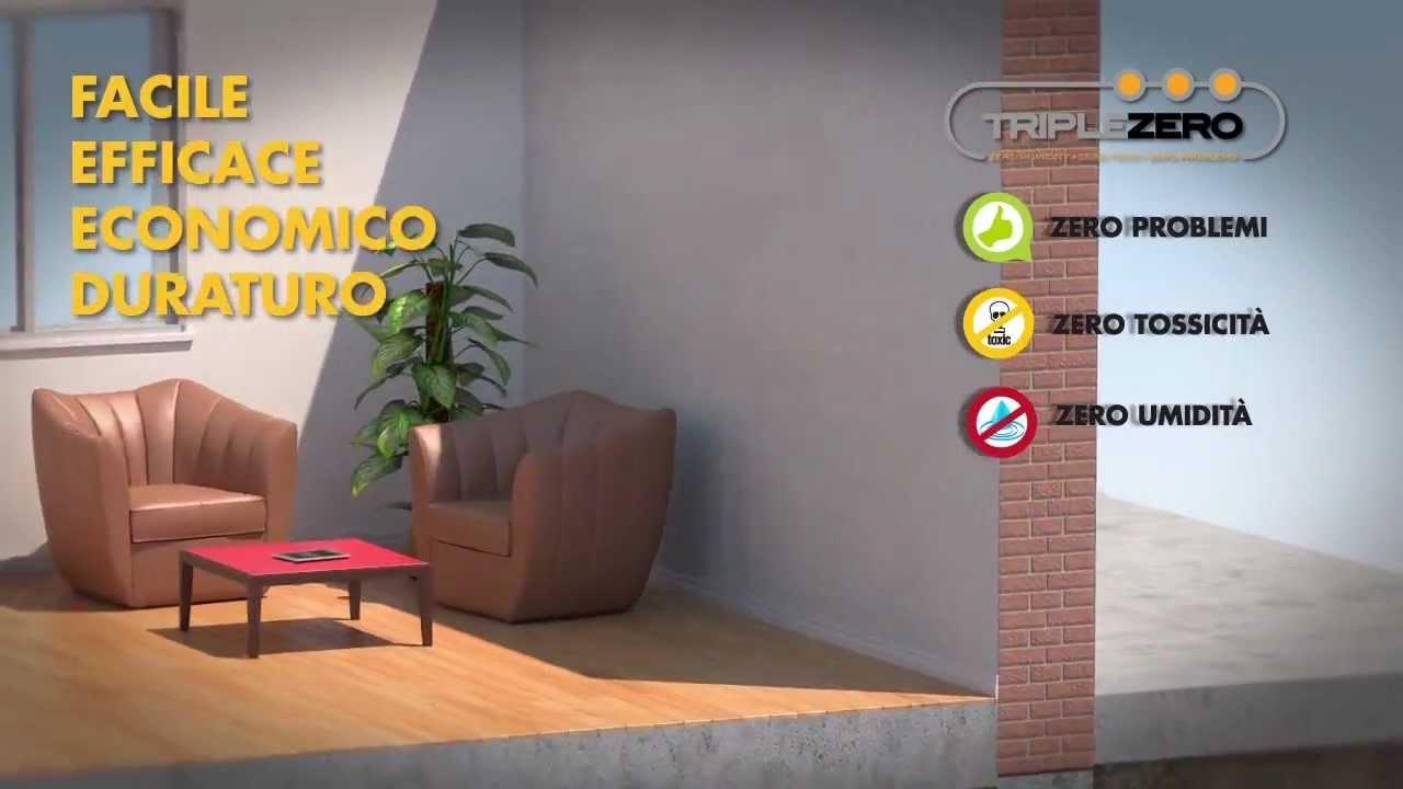 Triplezero la soluzione contro l 39 umidit di risalita - Contro l umidita in casa ...