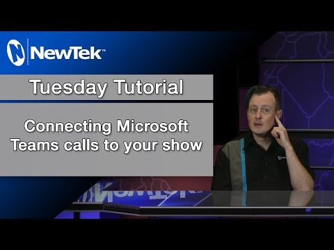Connecting Microsoft Teams calls to your show